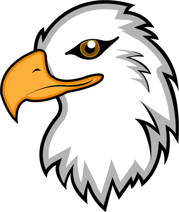 Eagle clipart simple. Baby at getdrawings eagles