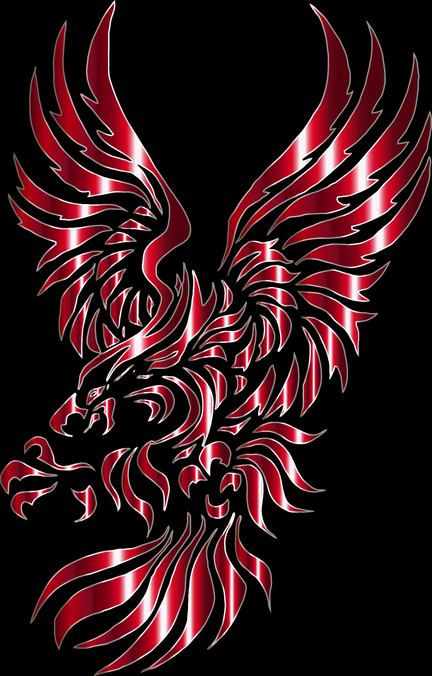 collection of no. Eagle clipart stencil