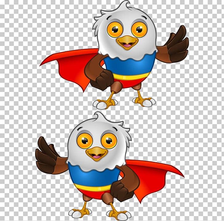 Bald cartoon superman png. Eagle clipart superhero