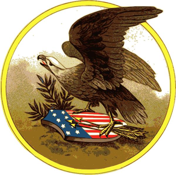 Image of american. Eagle clipart superhero