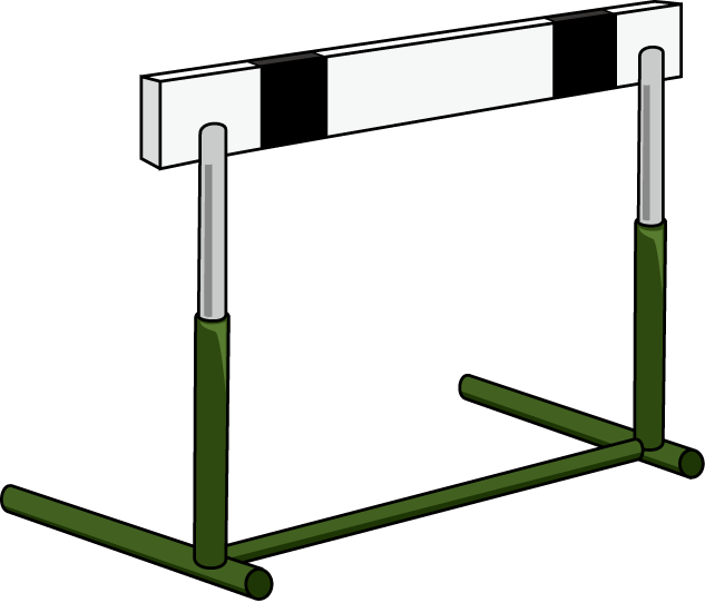 Eagle clipart track. And field png hurdles