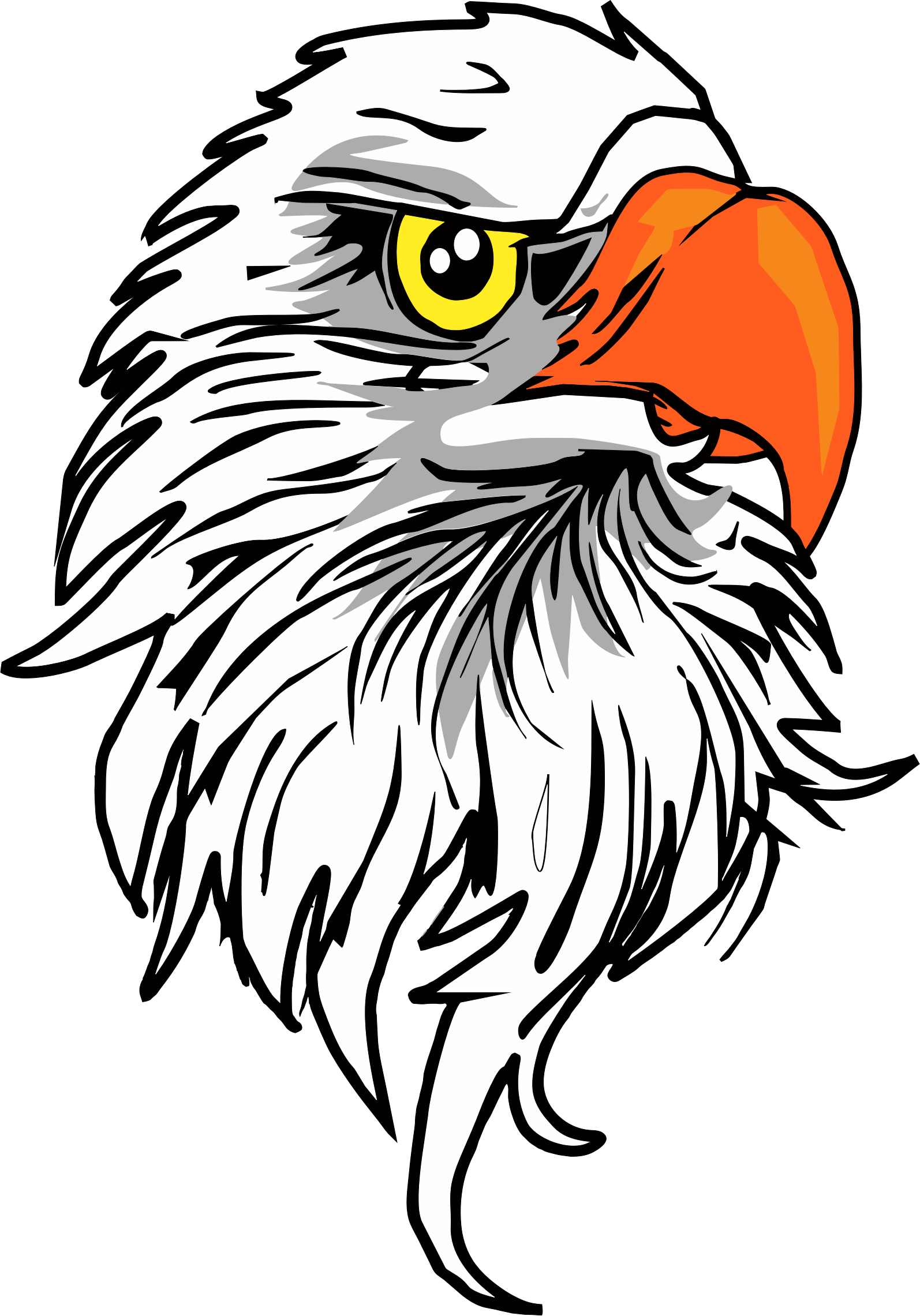 Snake clipart eagle. Images of head vector