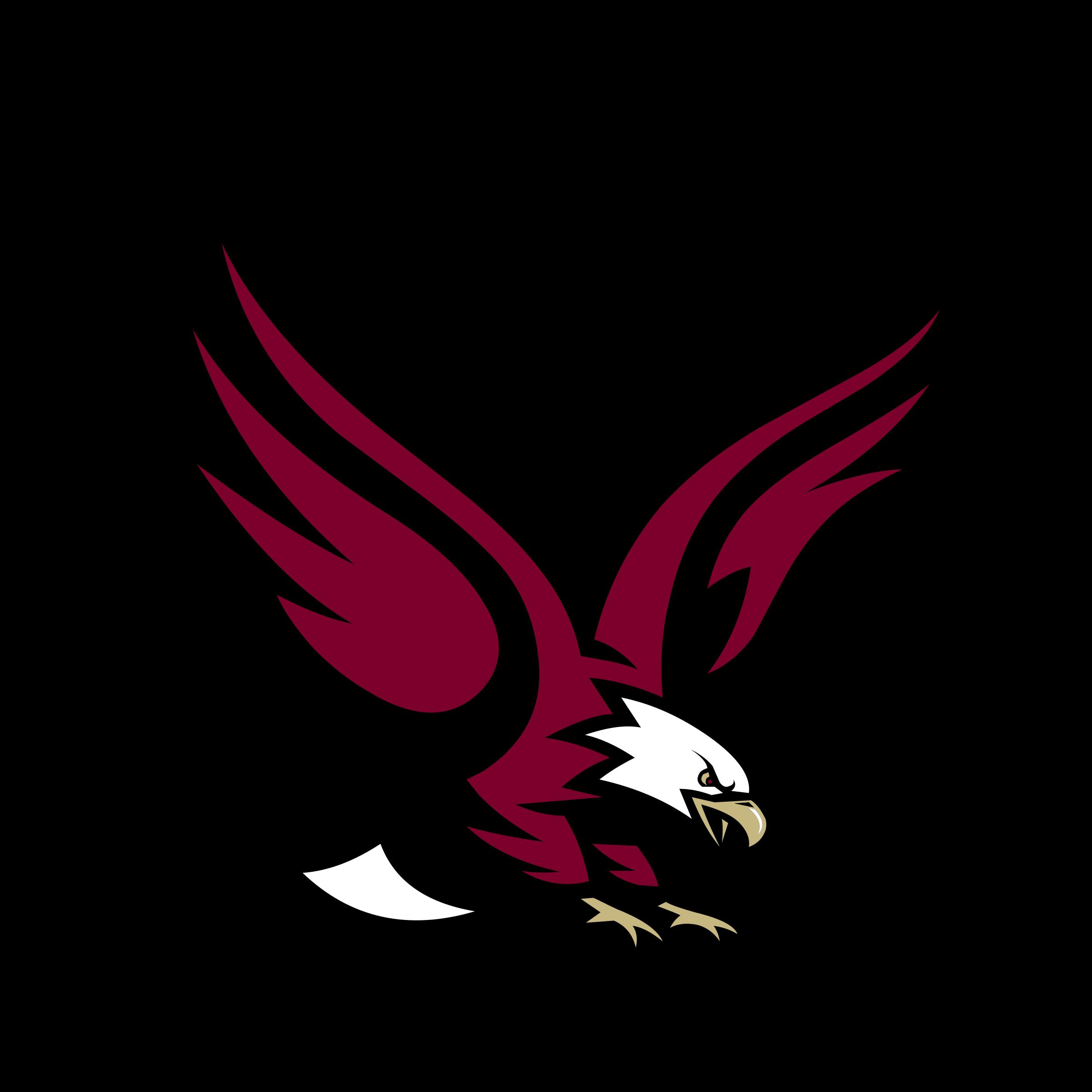 Boston college eagles logo. Eagle vector png