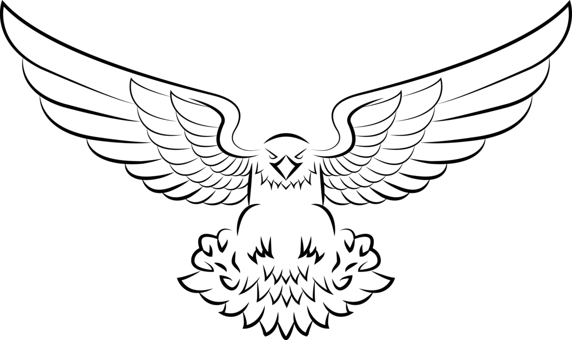Eagle vector png. Improved by souklin on