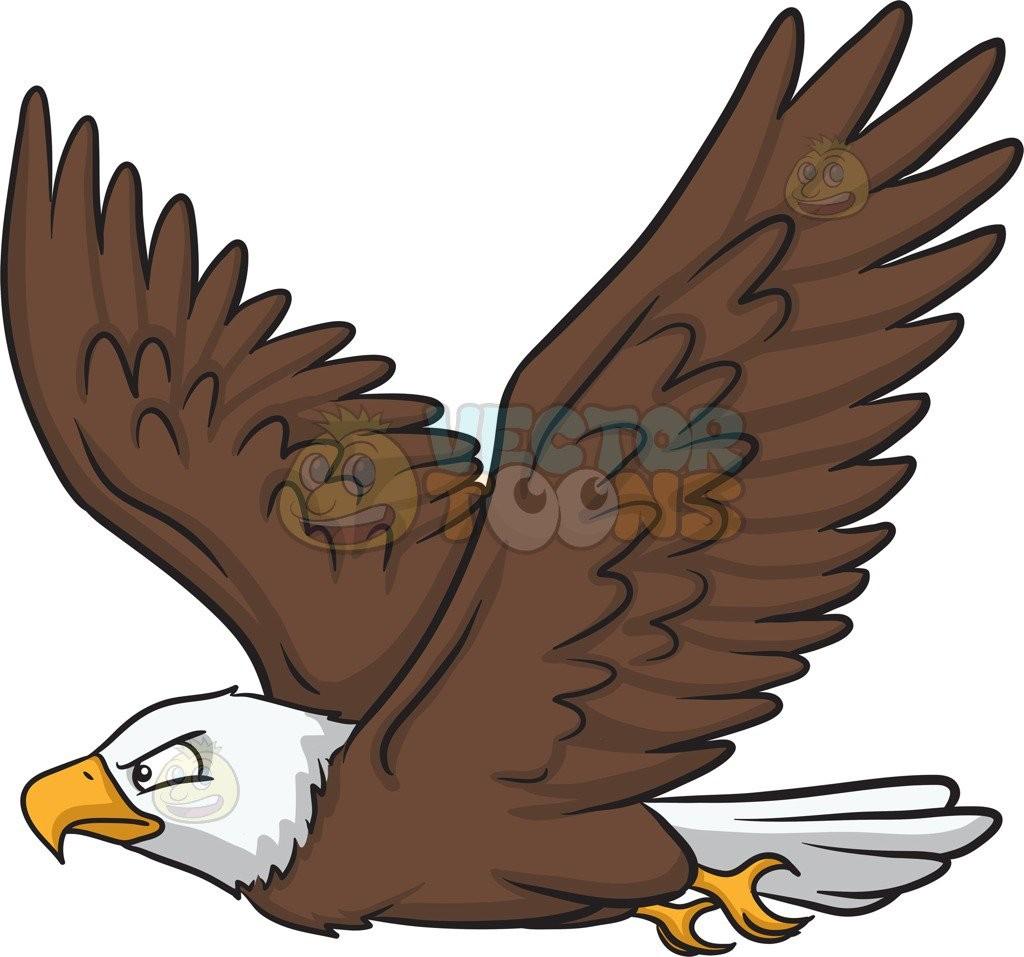 eagles clipart air animal