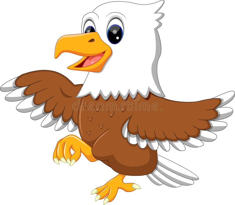 Download cute stock vector. Eagles clipart baby eagle