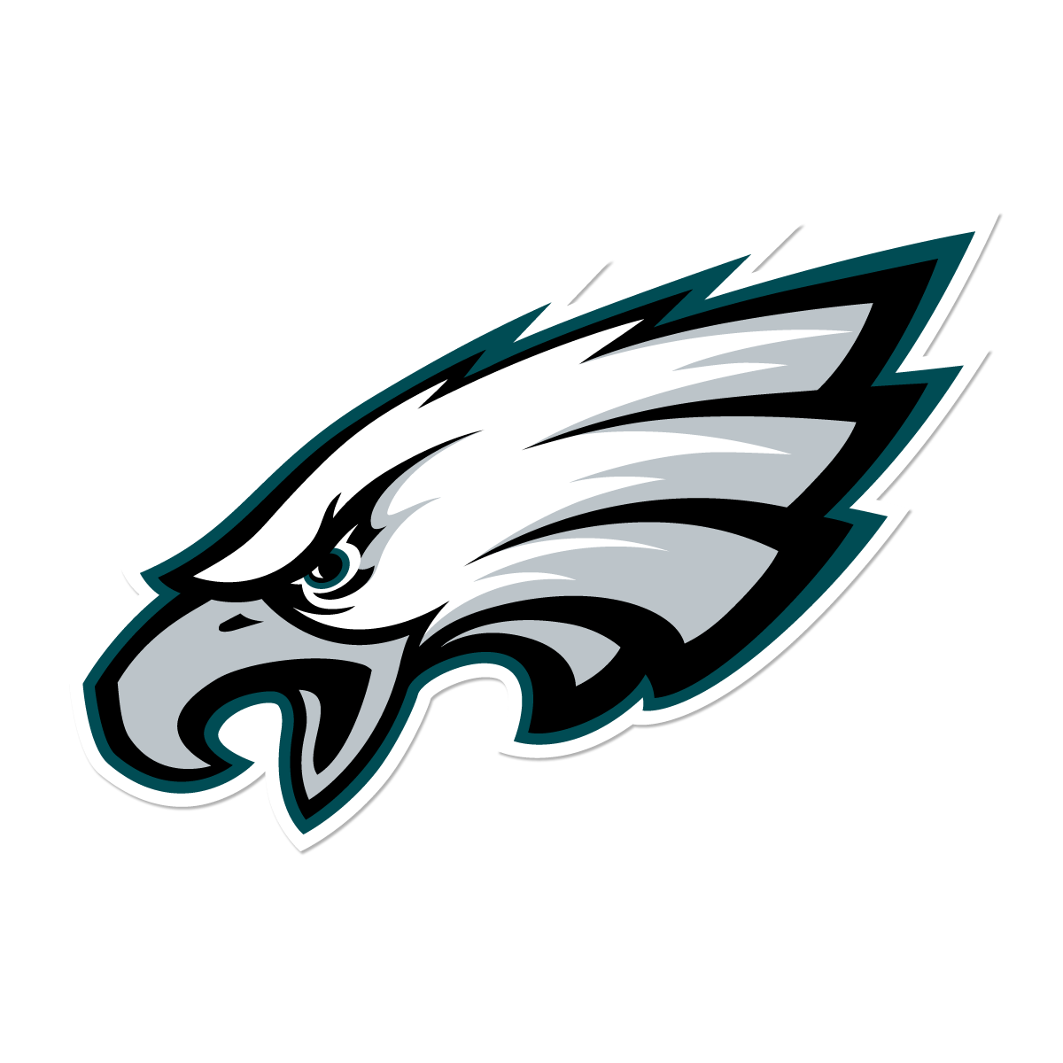 Philadelphia logo group. Football clipart eagles