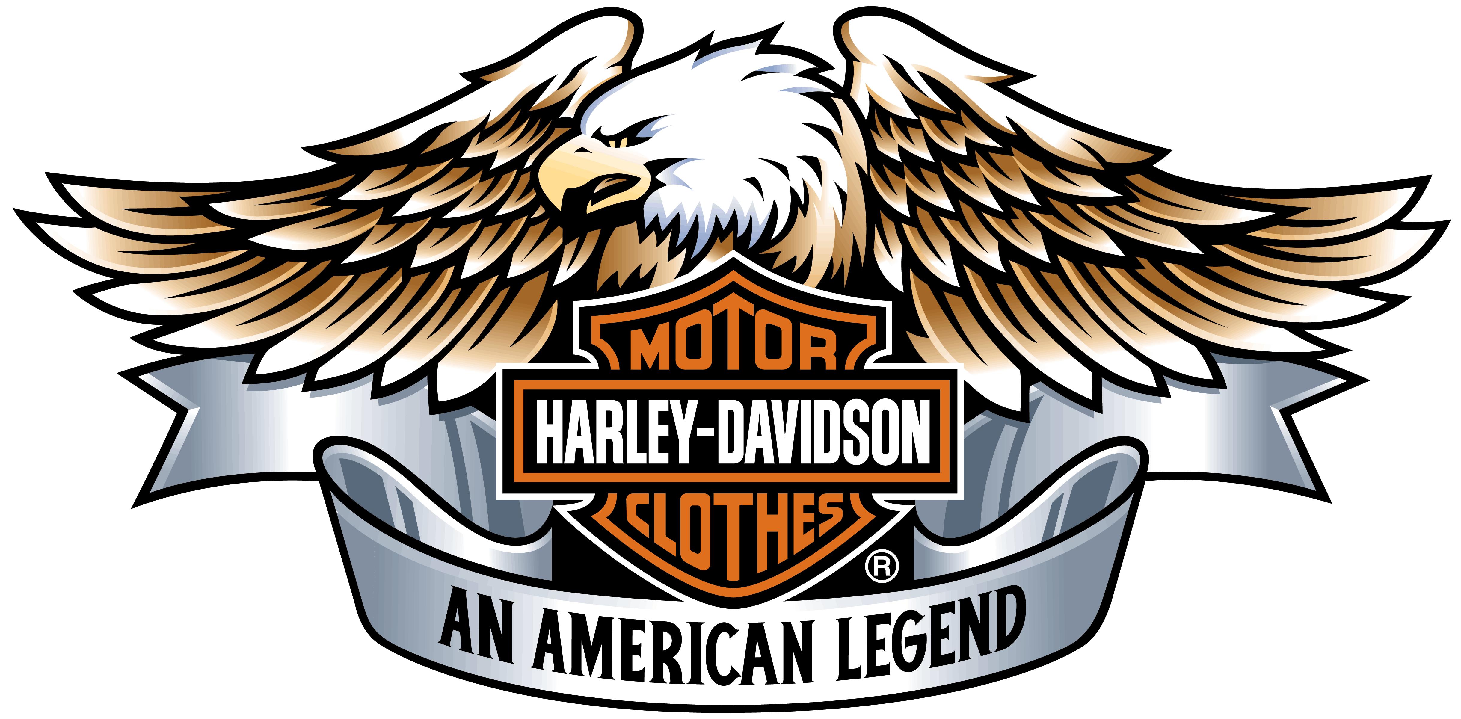 Harley davidson eagle. Eagles clipart biker transparent