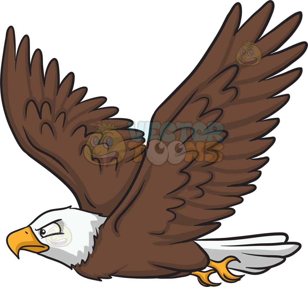 Cartoon pictures of free. Eagles clipart bold eagle