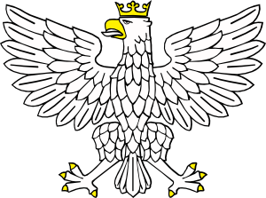 Wearing crown clip art. Eagles clipart crowned eagle