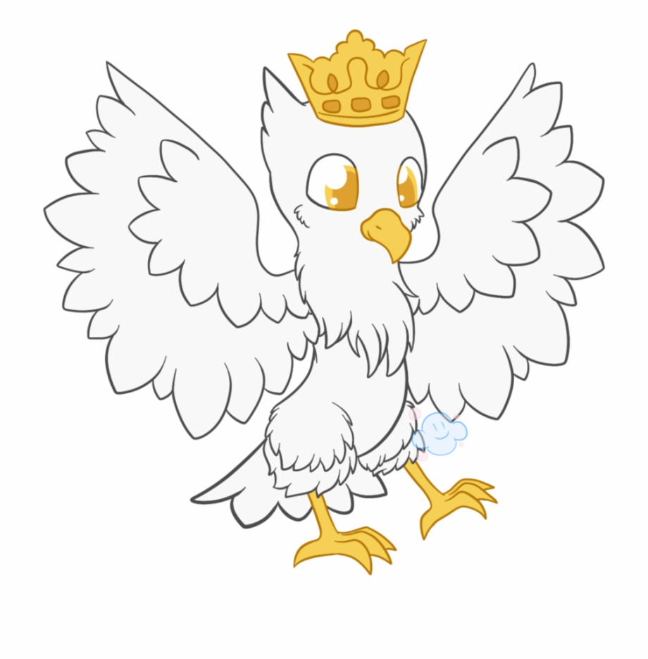 Eagles clipart crowned eagle. Drawing crown draw polish