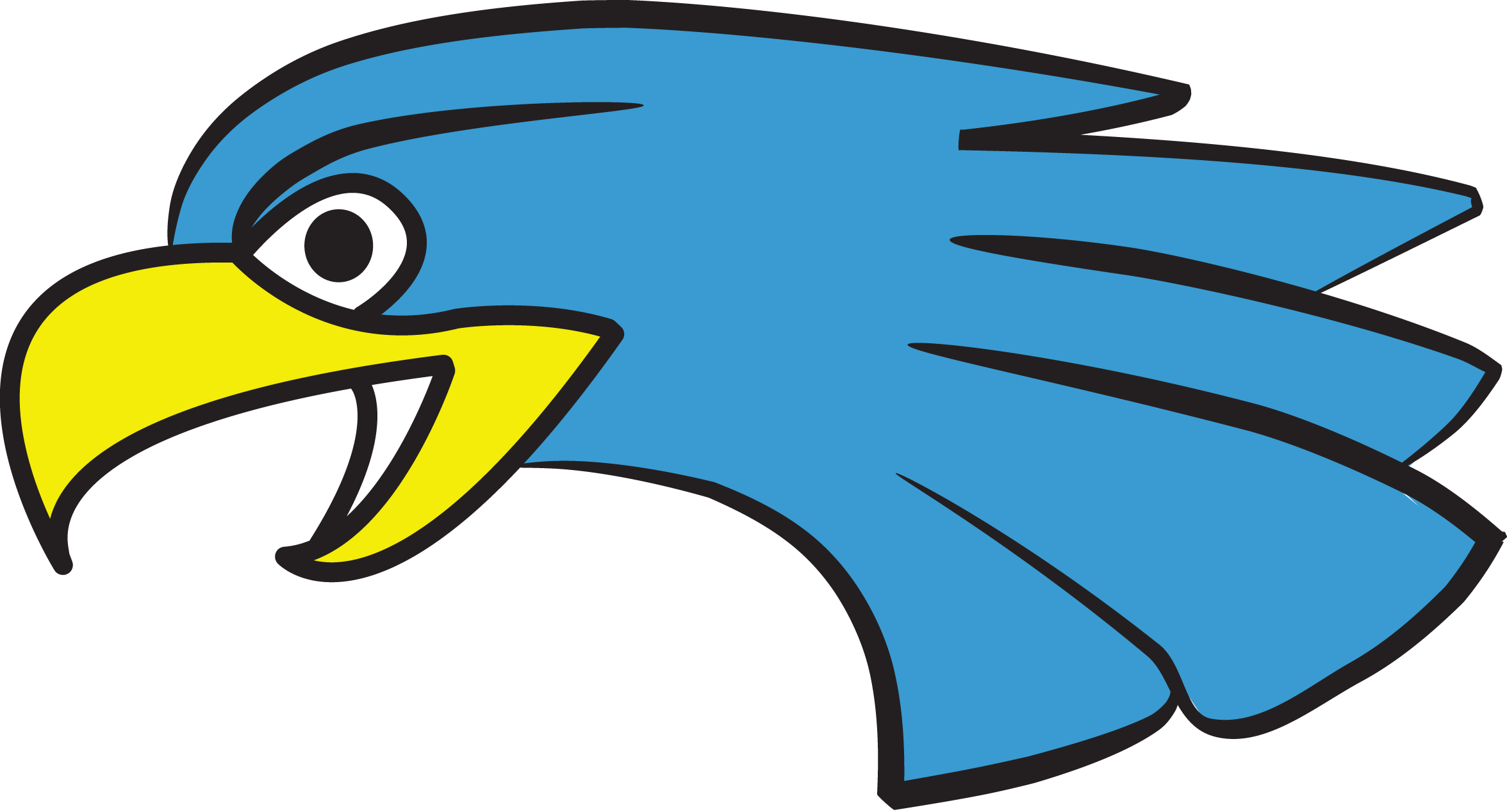 Eagles clipart eagle head. Wc hockey eaglehead