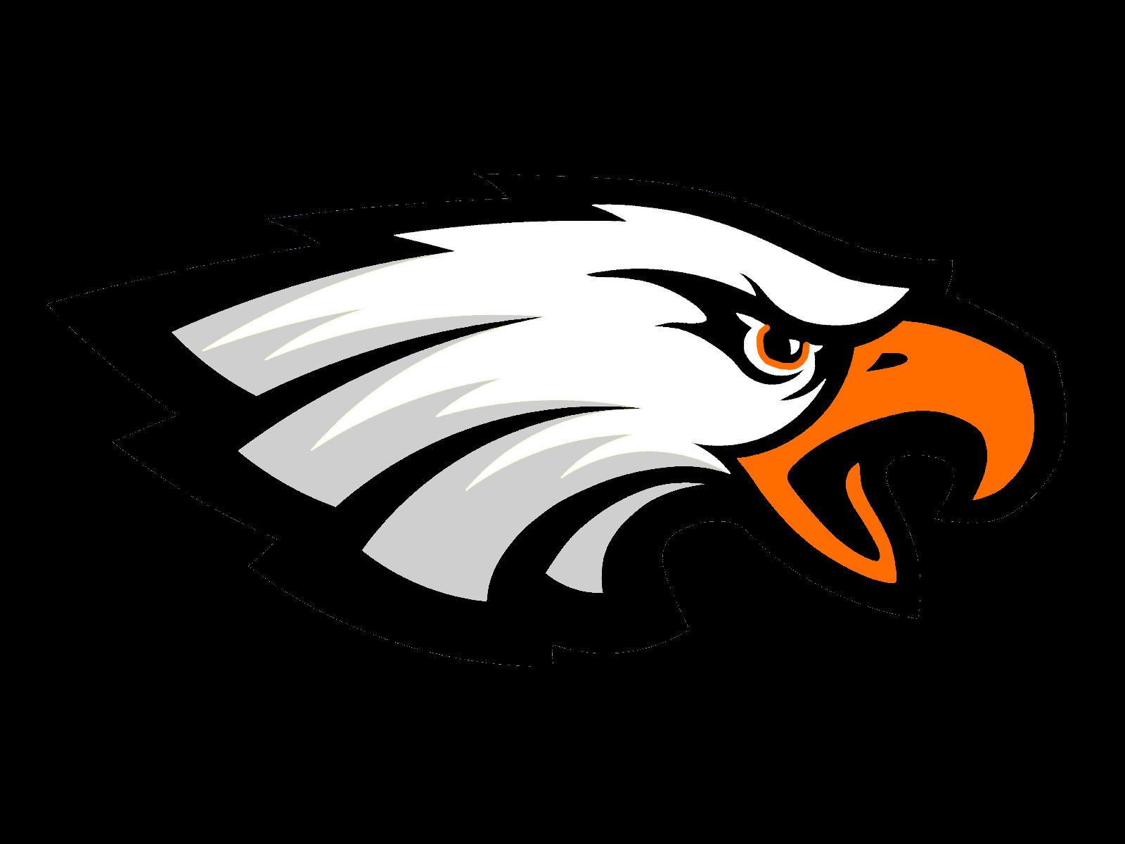Eagles clipart eagle profile. The south charleston black