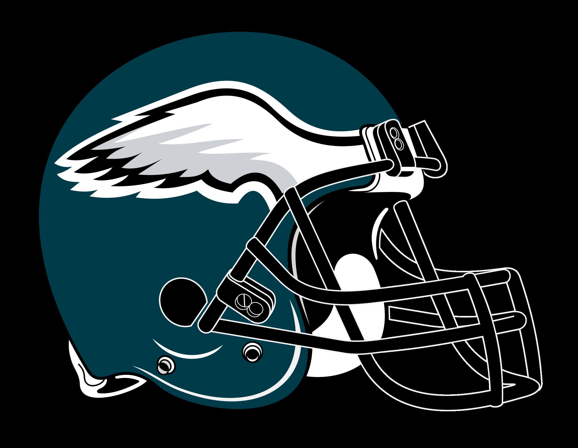 Eagles helmet png. Datei philadelphia rightface svg