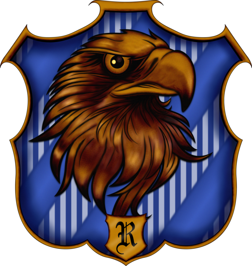 Crest by witcheewoman on. Eagles clipart ravenclaw
