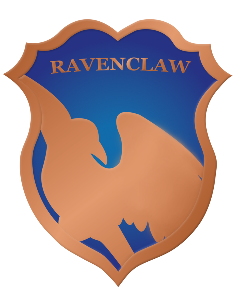 Eagles clipart ravenclaw. Crest badge by rainbowrenly