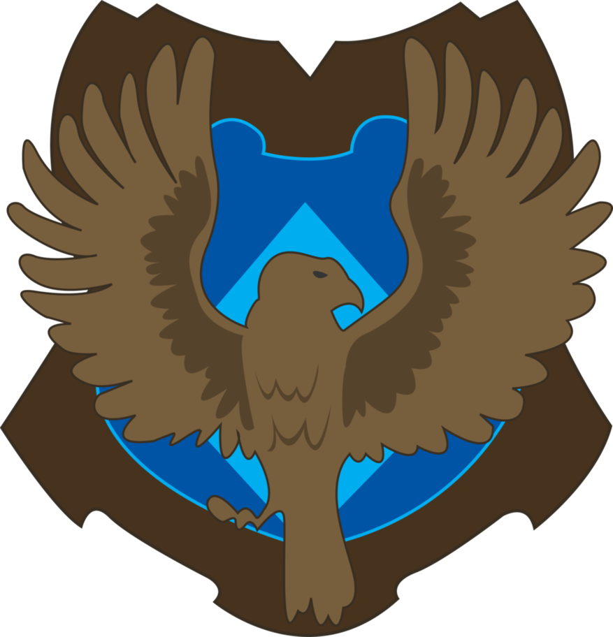 Crest by jendrawsit on. Eagles clipart ravenclaw