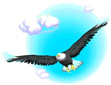 Eagles clipart sky. Eagle free graphics of