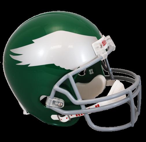 Philadelphia riddell throwback to. Eagles helmet png