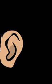 Listen clipart. Ear clip art free