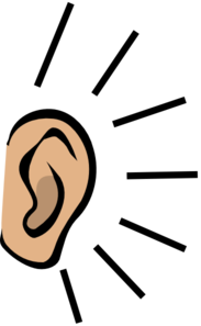 Clip art at clker. Ear clipart