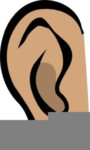 Ears free images at. Ear clipart animated