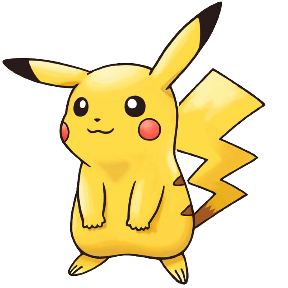 Pikachu character giant bomb. Youtube clipart pokemon