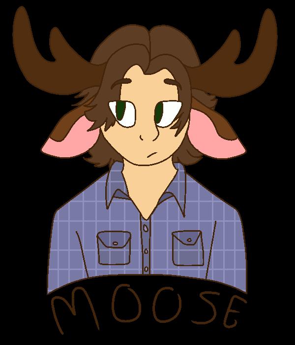 Ear clipart moose. Wheres ur by spicyyyyy