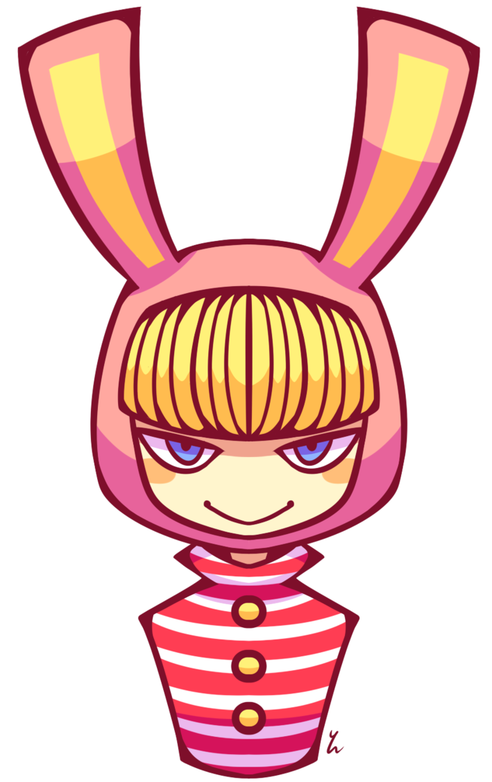 Ears clipart pop art. Popee by yatsunote on