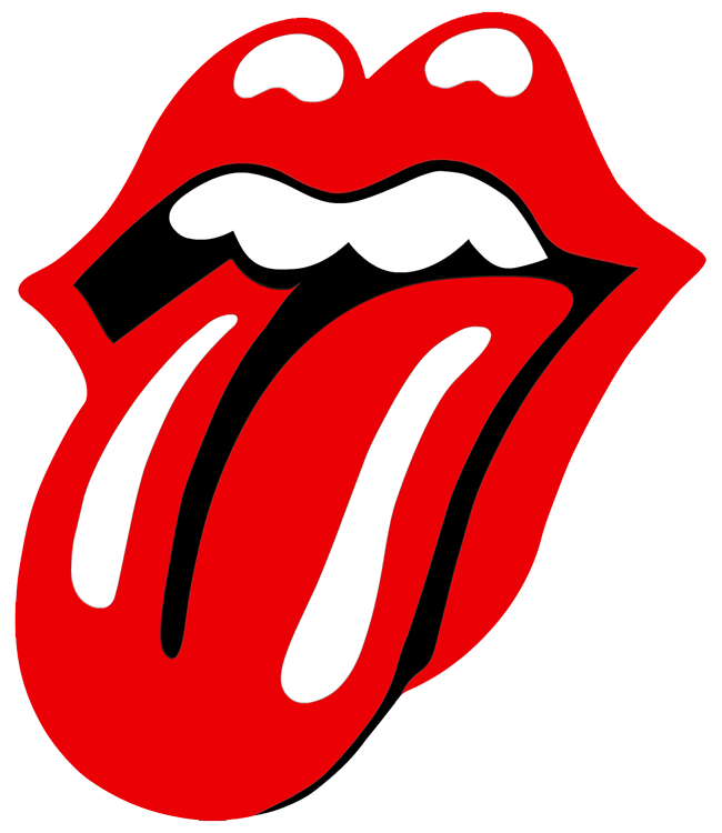 First designer of stones. Einstein clipart tongue