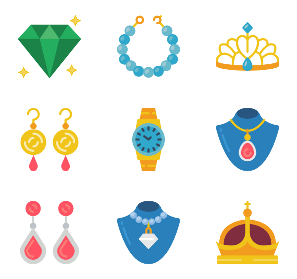 Ear clipart vector. Icons free jewelry