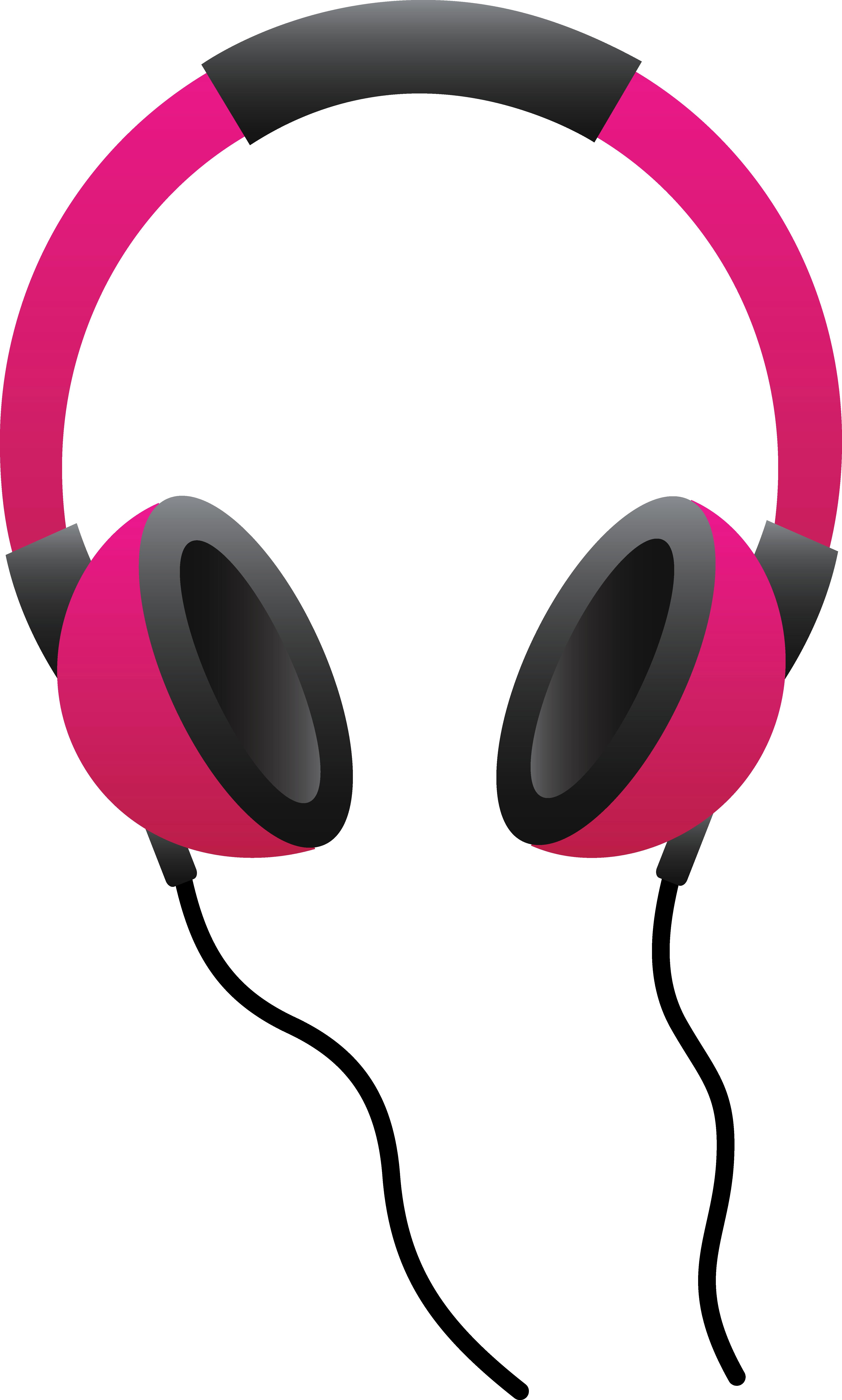 Clip art free panda. Headphones clipart person