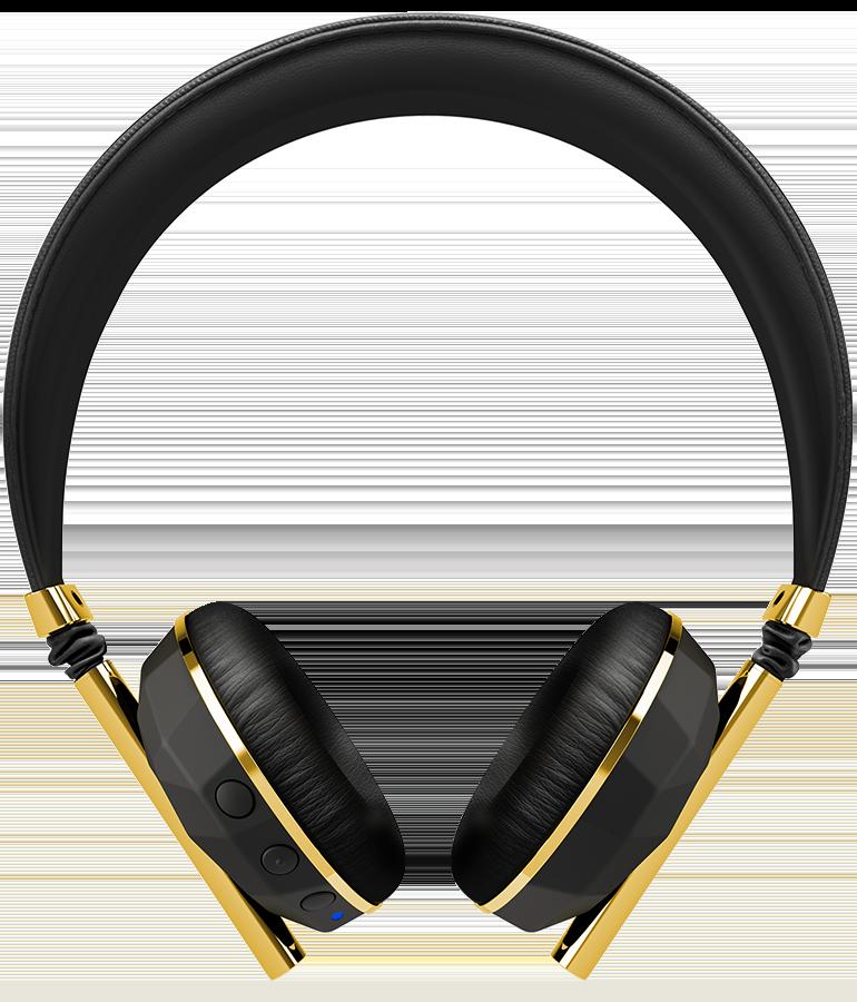 Gold free on dumielauxepices. Headphone clipart bluetooth headphone