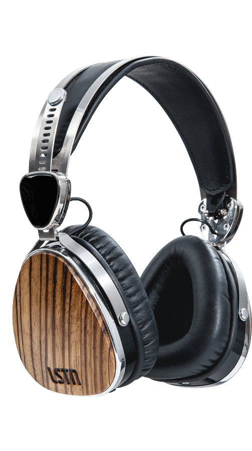 Headphones clipart writing center. Wireless zebra wood troubadours