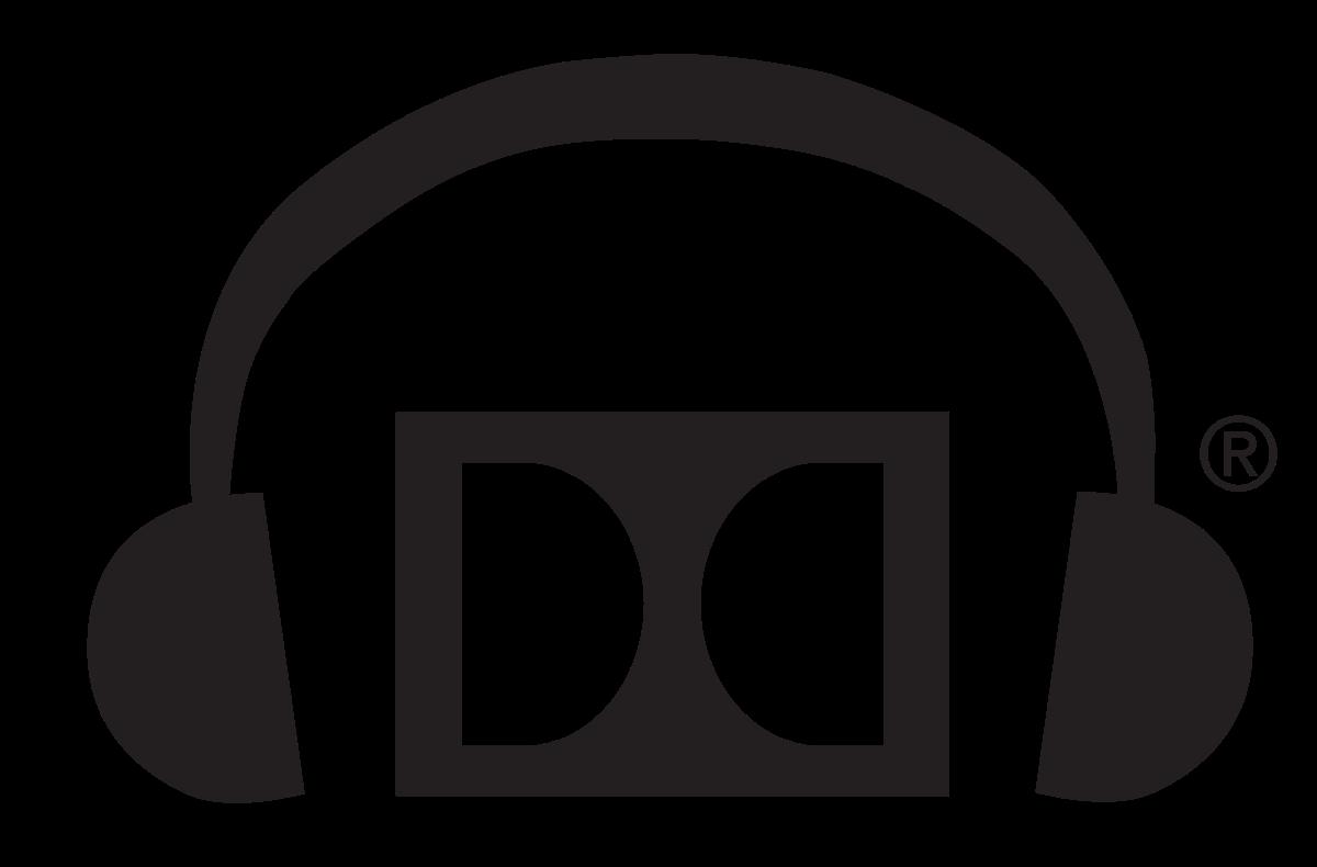 Dolby wikipedia . Headphone clipart vector art