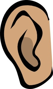 Two . Ears clipart