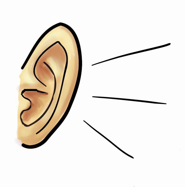 Ear free download best. Ears clipart effective listening