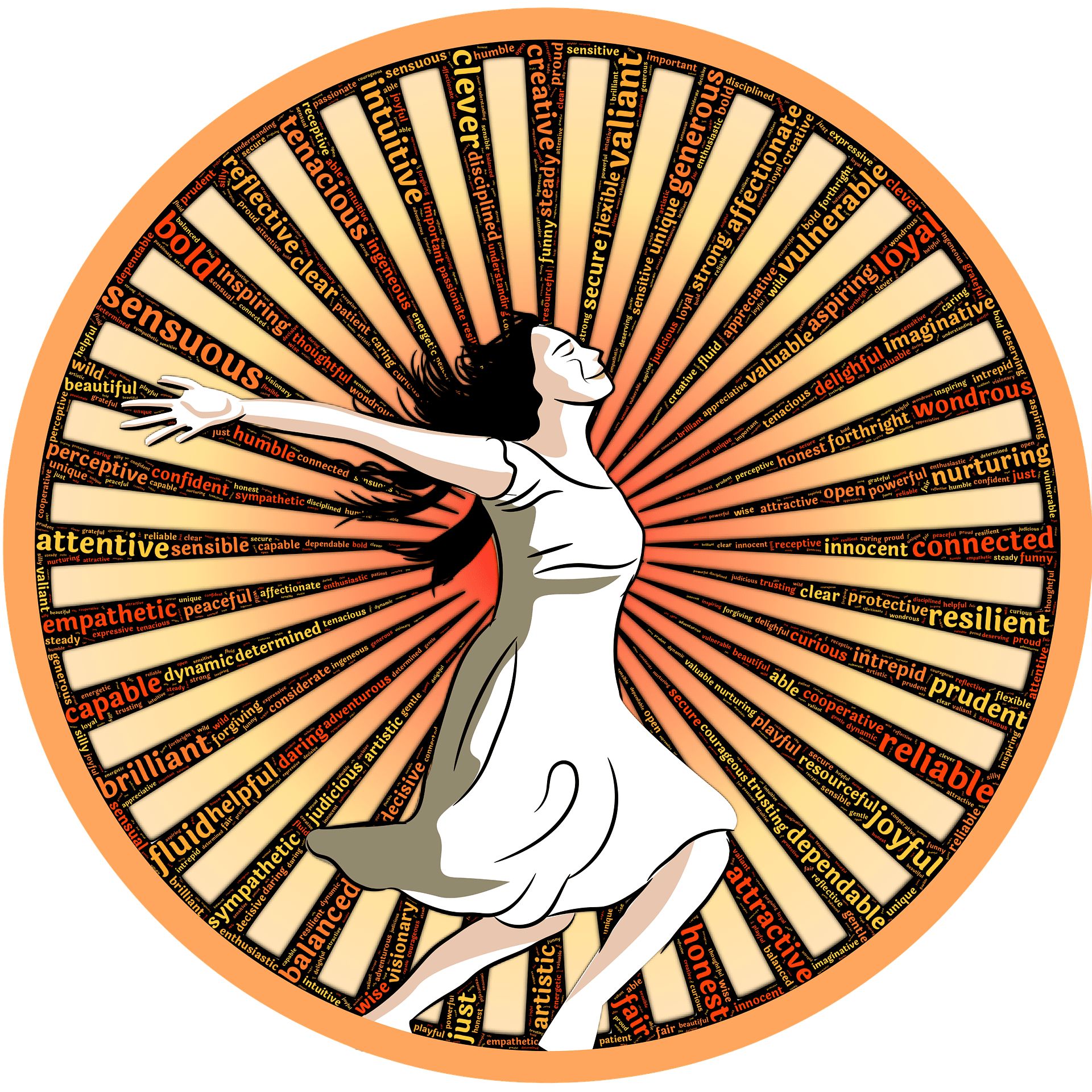 Super woman deluxe moonflower. Motivation clipart fortitude