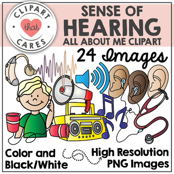Ears clipart sense hearing. Of by that cares