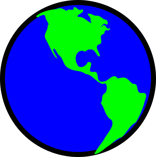 Planet clipart green planet. Earth at getdrawings com