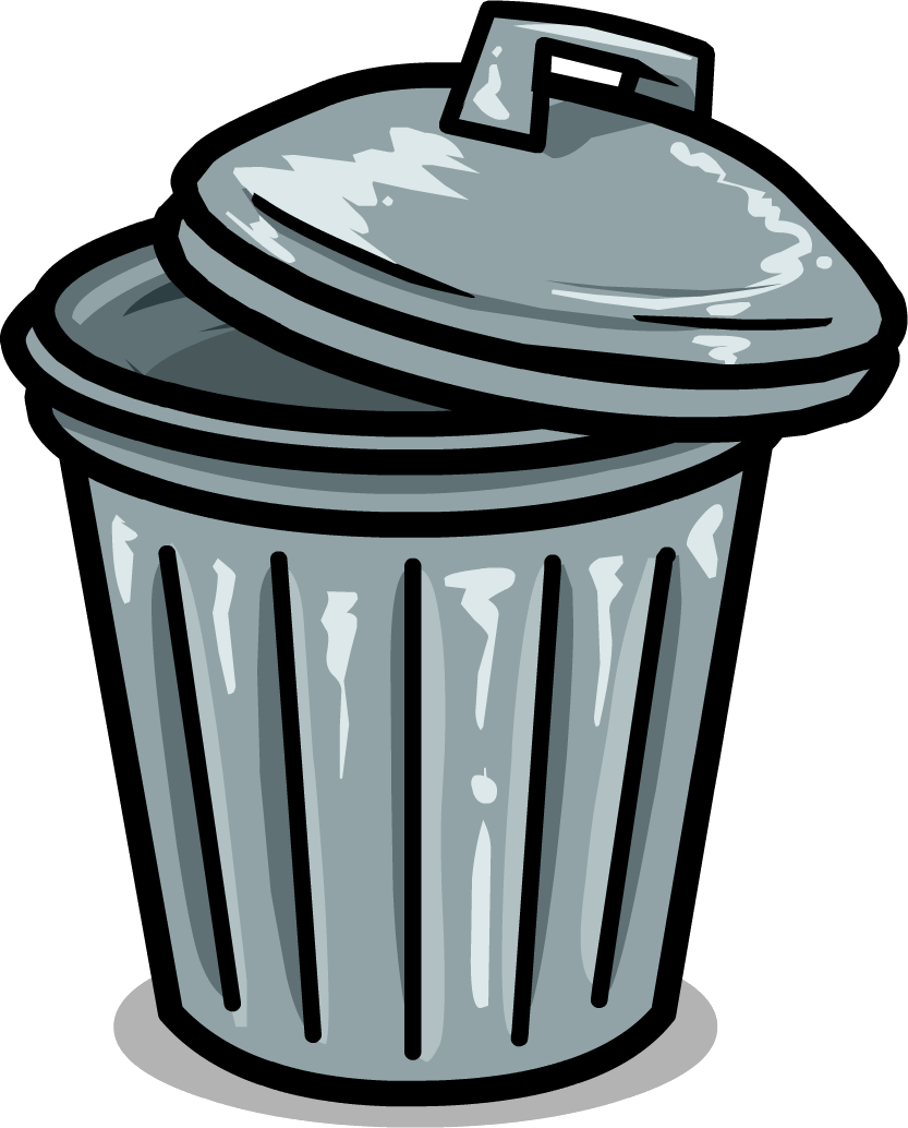 The vacuole is considered. Garbage clipart paper