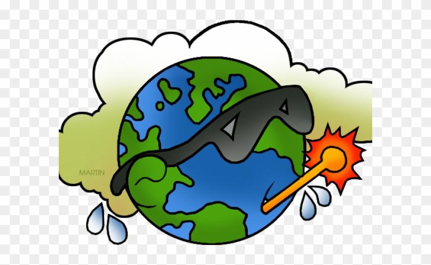 Earth cartoon . Environment clipart global warming
