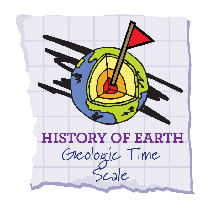 Geologic time scale soar. Geology clipart pond dipping