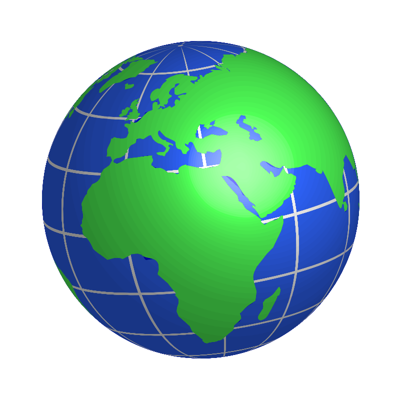 collection of globe. Europe clipart erth