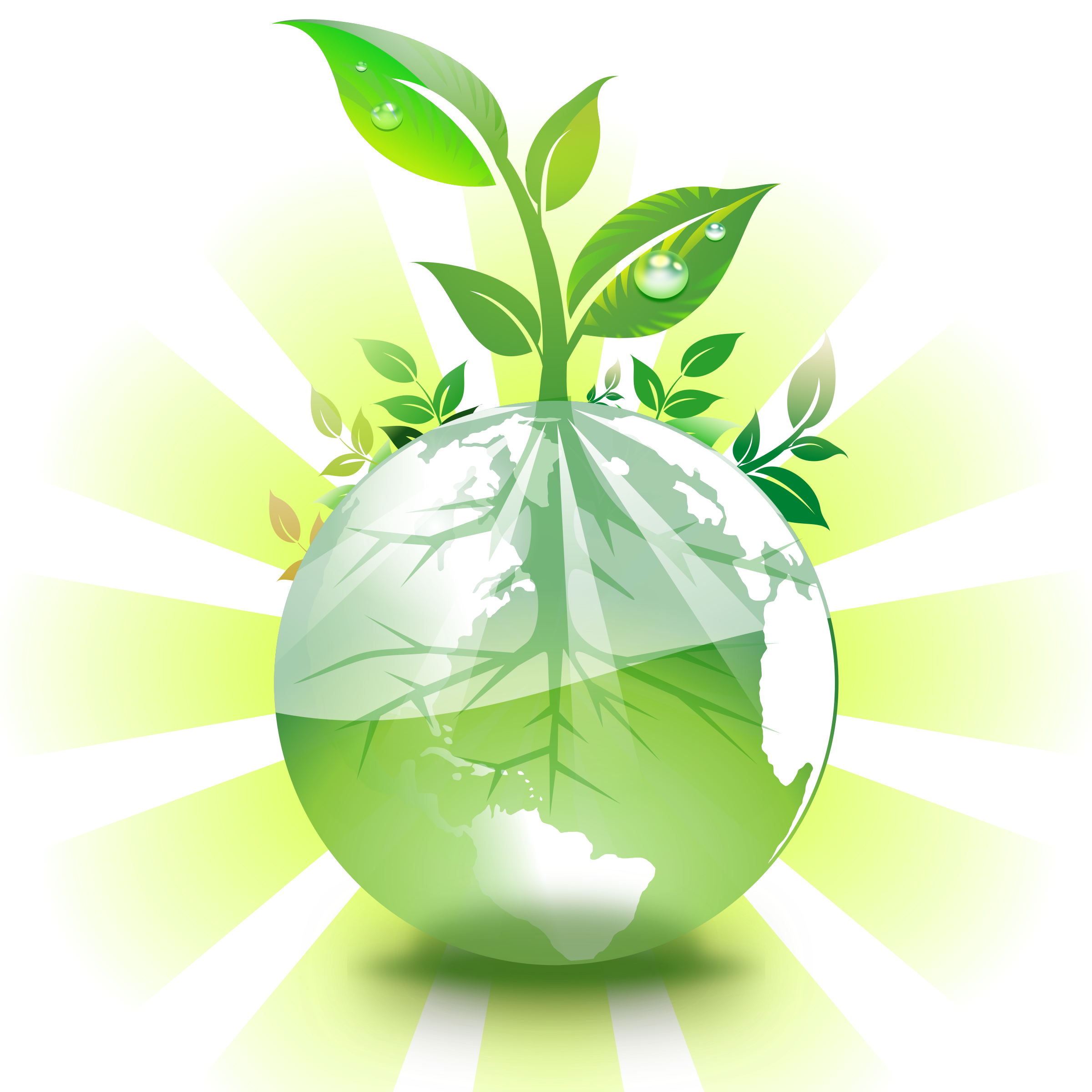 Green earth by mrallowski. Environment clipart sustainable living