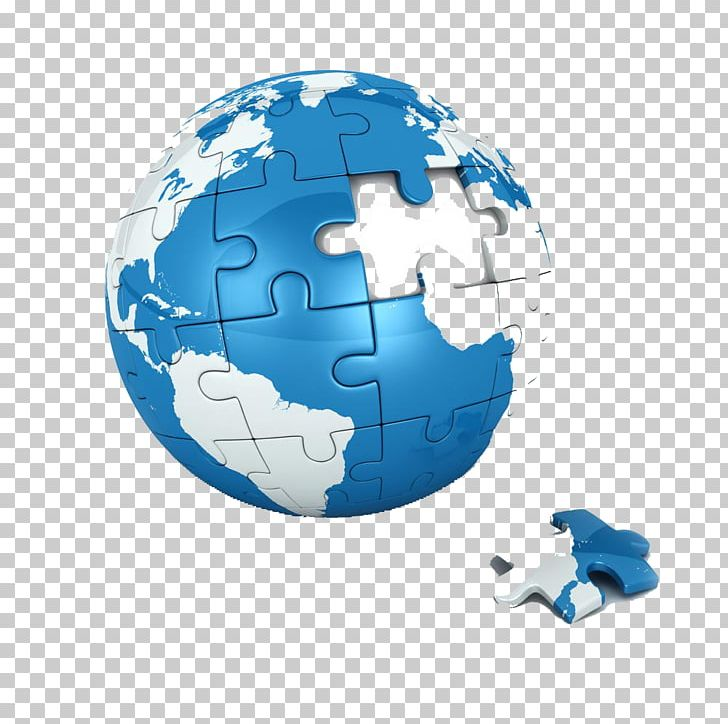 Jigsaw globe stock photography. Earth clipart puzzle