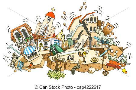 . Earthquake clipart