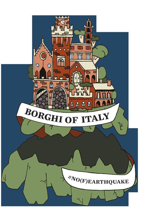 Earthquake clipart calamities. Borghi of italy no
