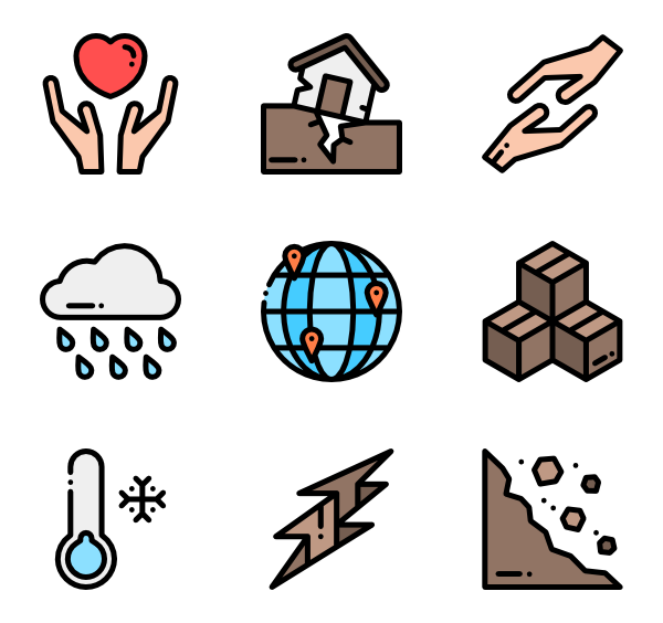 Earthquake clipart drawing. Icons free vector natural