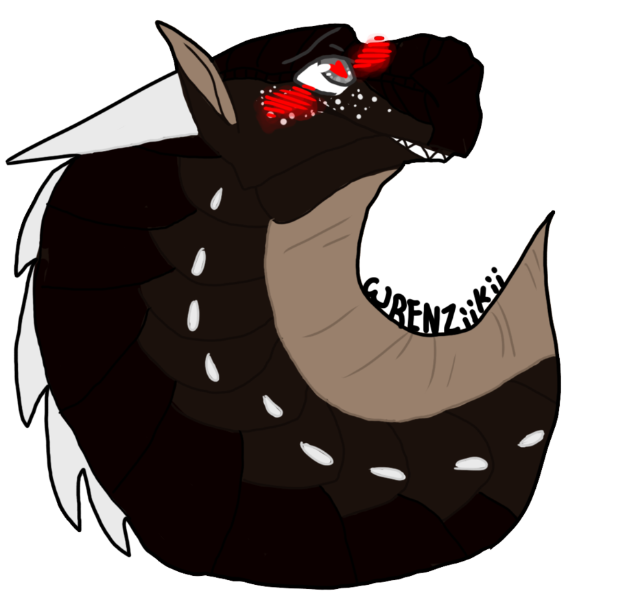 Queenofdragonfire commission by wrenziikii. Earthquake clipart drawing